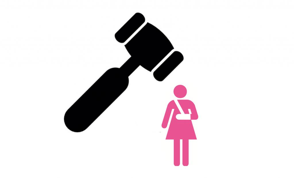 femme victime violences conjugales_marteau juge